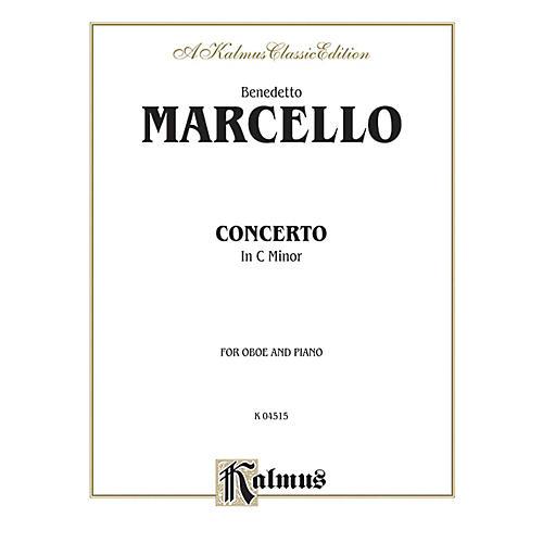 Alfred Concerto in C Minor for Oboe By Benedetto Marcello Book