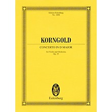 Eulenburg Concerto in D Major, Op. 35 (Study Score) Misc Series Softcover Composed by Erich Korngold