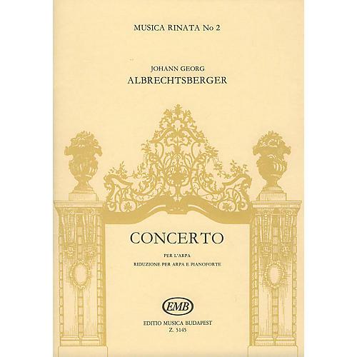 Editio Musica Budapest Concerto per l'arpa, 2 corni ed archi (Score) EMB Series by Johann Georg Albrechtsberger