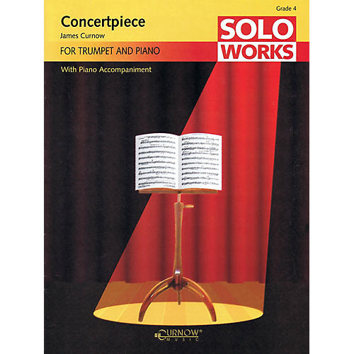 Curnow Music Concertpiece (Soloworks with Piano Accompaniment - Grade 4 - Trumpet) Concert Band Level 4