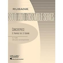 Rubank Publications Concertpiece (Tuba Solo in C (B.C.) with Piano - Grade 4.5) Rubank Solo/Ensemble Sheet Series Softcover