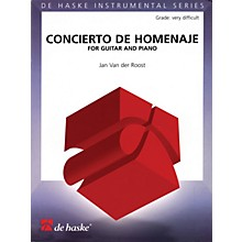 De Haske Music Concierto De Homenaje (for Guitar and Piano) De Haske Play-Along Book Series Softcover