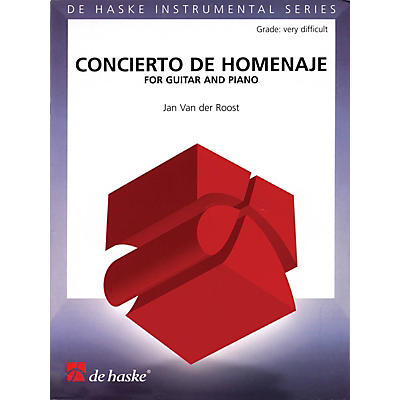 De Haske Music Concierto De Homenaje (for Guitar and Piano) De Haske Play-Along Book Series Softcover