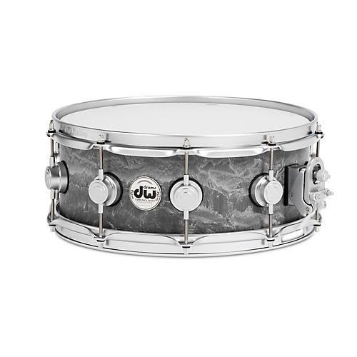 open box dw concrete snare drum 14 x 5 5 in satin chrome hardware 190839510822 musician 39 s friend. Black Bedroom Furniture Sets. Home Design Ideas