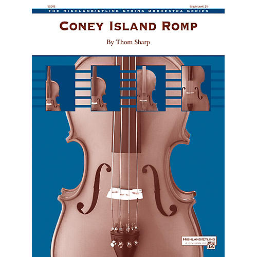 Alfred Coney Island Romp String Orchestra Grade 2.5 Set