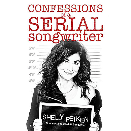 Backbeat Books Confessions of a Serial Songwriter Book Series Softcover Written by Shelly Peiken