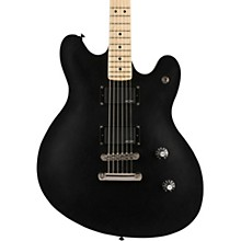 Contemporary Active Starcaster Maple Fingerboard Flat Black