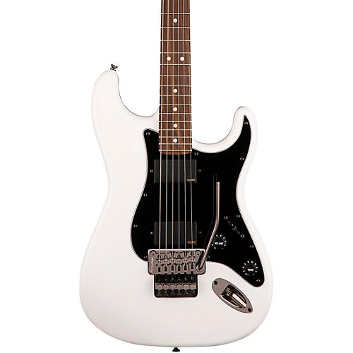 Squier Contemporary Active Stratocaster HH Electric Guitar Olympic White