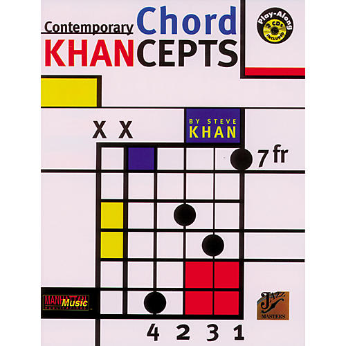 Alfred Contemporary Chord Khancepts (Book and 2 CDs)
