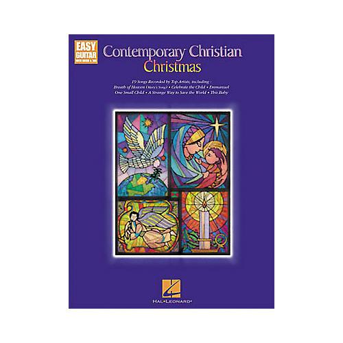 Hal Leonard Contemporary Christian Christmas Easy Guitar Book