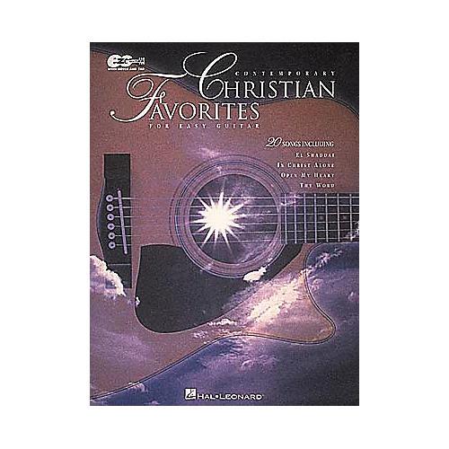 Hal Leonard Contemporary Christian Favorites Guitar Tab Book