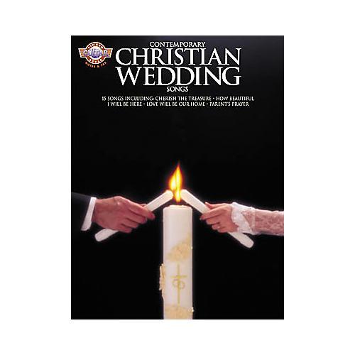 Guitar Wedding Songs: Hal Leonard Contemporary Christian Wedding Songs