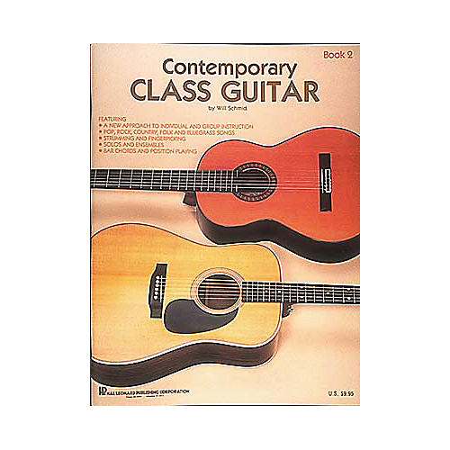 Hal Leonard Contemporary Class Guitar 2 Method Book