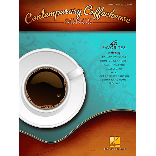 Hal Leonard Contemporary Coffeehouse Songs for Piano/Vocal/Guitar PVG