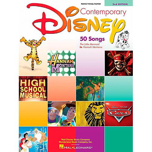 Hal Leonard Contemporary Disney Piano, Vocal, Guitar Songbook