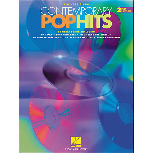 Hal Leonard Contemporary Pop Hits 2nd Edition for Big Note Piano