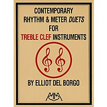 Hal Leonard Contemporary Rhythm and Meter Duets Meredith Music Resource Series by Elliot DelBorgo