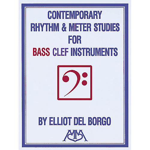 Hal Leonard Contemporary Rhythm and Meter Studies Meredith Music Resource Series by Elliot DelBorgo