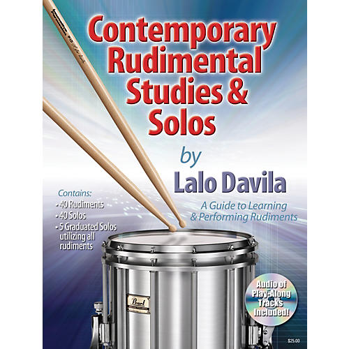 Row-Loff Contemporary Rudimental Studies & Solos Book