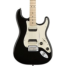 Contemporary Stratocaster HH Maple Fingerboard Electric Guitar Black Metallic