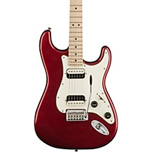 Contemporary Stratocaster HH Maple Fingerboard Electric Guitar Dark Metallic Red