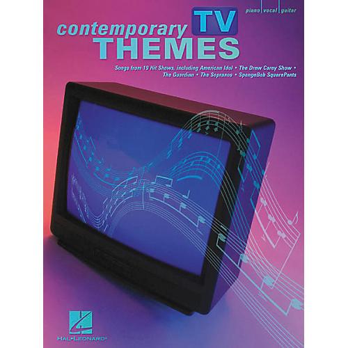 Hal Leonard Contemporary TV Themes Piano, Vocal, Guitar Songbook