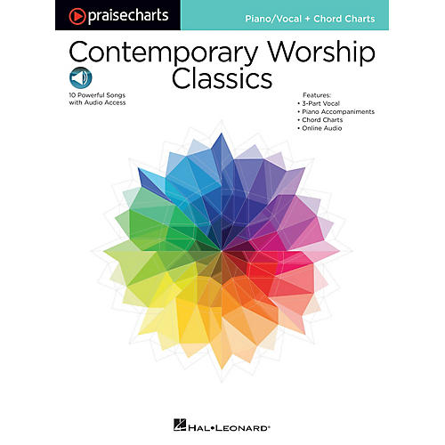 Hal Leonard Contemporary Worship Classics Praise Chart Series Softcover Audio Online Performed by Various