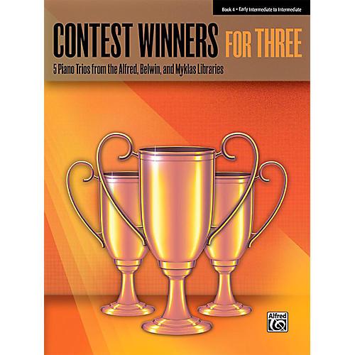 Alfred Contest Winners for Three Book 4 Early Intermediate / Intermediate Piano