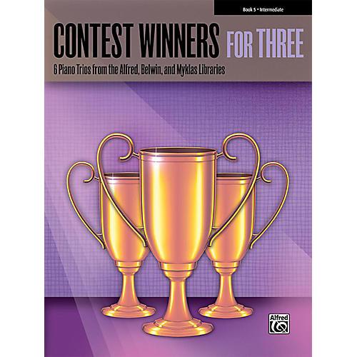 Alfred Contest Winners for Three Book 5 Intermediate Piano