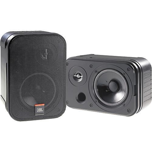 JBL Control 1 Pro 5.25IN 150W 2 Way Compact Speaker Pair Black