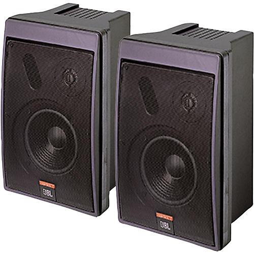 JBL Control 5 6.5IN Compact Monitor Speaker Pair Black