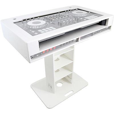 ProX Control Tower 2U DJ Podium Stand w/ 2x Travel Case for Pioneer XDJ-XZ, DDJ-1000 SRT, DDJ-SZ2, and DDJ SX-3 Black Finish