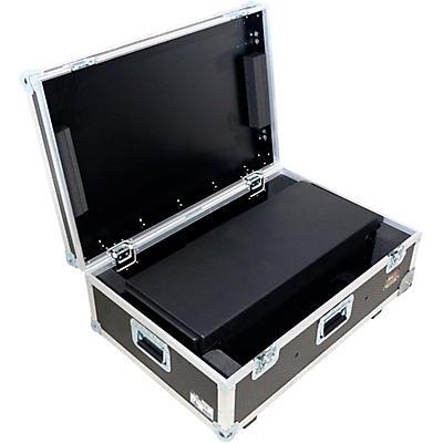 ProX Control Tower DJ Podium Stand Travel Case for Pioneer XDJ-XZ, DDJ-1000 SRT, DDJ-SZ2, DDJ SX-3 Black Finish