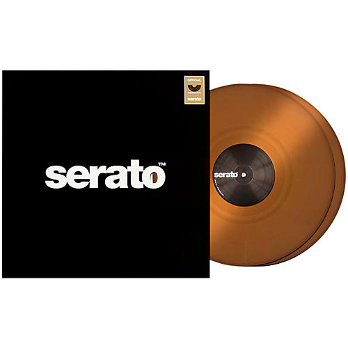 SERATO Control Vinyl - Chocolate Brown