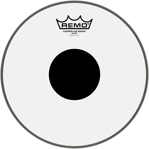 Remo Controlled Sound Black Dot Batter Head