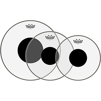 Remo Controlled Sound Black Dot Tom Pack