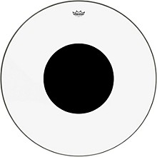 Controlled Sound Clear with Black Dot Bass Drum Head 32 in.