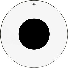 Controlled Sound Clear with Black Dot Bass Drum Head 40 in.