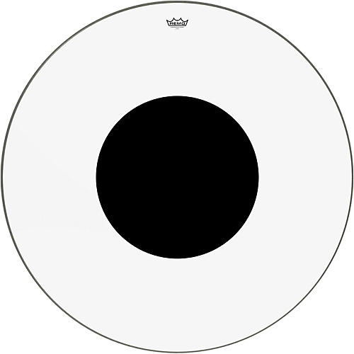 Remo Controlled Sound Clear with Black Dot Bass Drum Head 40 in.
