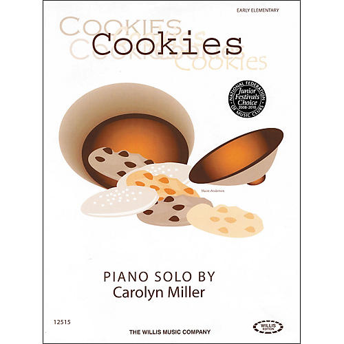 Willis Music Cookies Early Elementary Piano Solo by Carolyn Miller