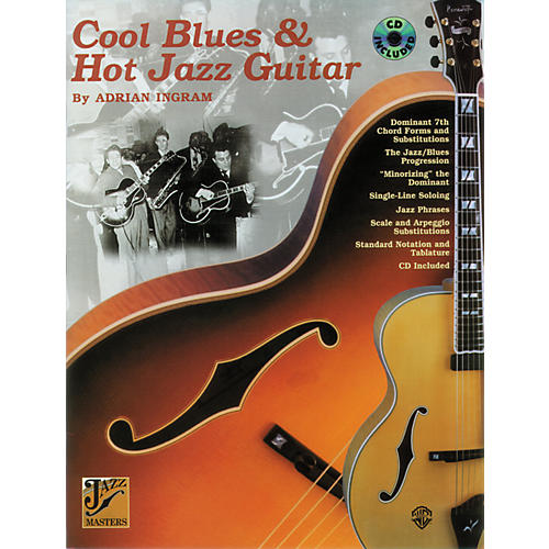 Alfred Cool Blues and Hot Jazz Guitar Book/CD