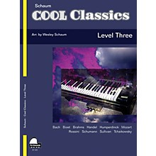 SCHAUM Cool Classics, Lev 3 Educational Piano Series Softcover