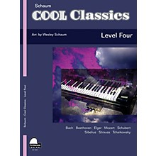 SCHAUM Cool Classics, Lev 4 Educational Piano Series Softcover