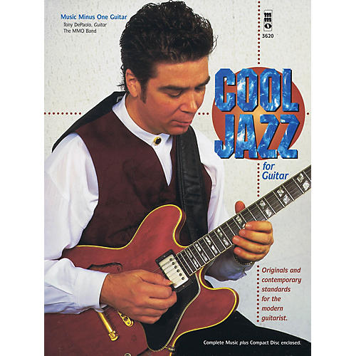 Music Minus One Cool Jazz for Guitar Music Minus One Series Softcover with CD Performed by Tony DePaolo