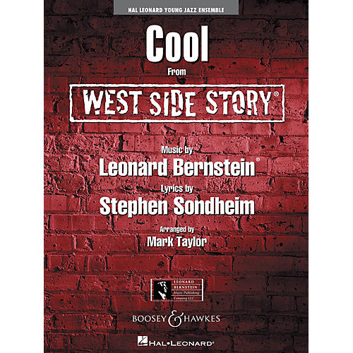 Hal Leonard Cool (from West Side Story) - Jazz Ensemble Grade 3 Full Score Jazz Band