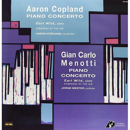 Alliance Copland & Menotti - Piano Concerto