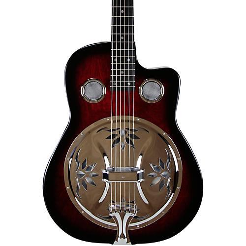 beard guitars copper mountain roundneck resonator guitar scarlet burst musician 39 s friend. Black Bedroom Furniture Sets. Home Design Ideas