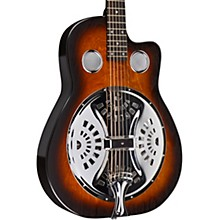 Open BoxBeard Guitars Copper Mountain Roundneck Single Pickup Acoustic-Electric Resonator Guitar
