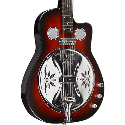 beard guitars copper mountain squareneck double pickup acoustic electric resonator guitar. Black Bedroom Furniture Sets. Home Design Ideas