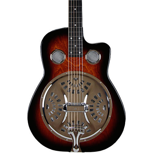 beard guitars copper mountain squareneck single pickup acoustic electric resonator guitar amber. Black Bedroom Furniture Sets. Home Design Ideas